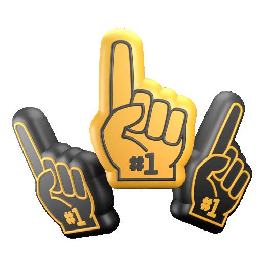 3d Foam Fingers